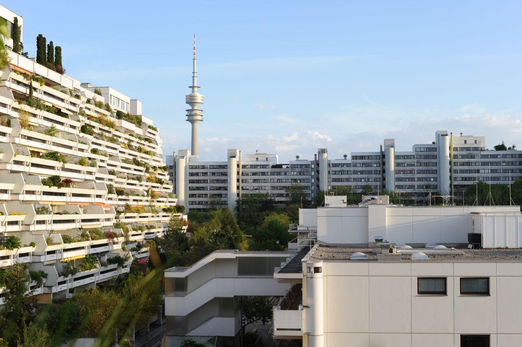 Blick auf Straßbergerstraße